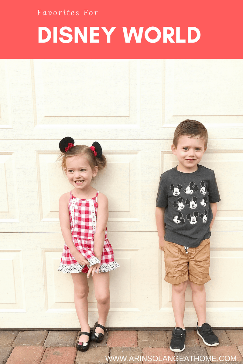 Favorites for a day at Disney - www.arinsolangeathome.com
