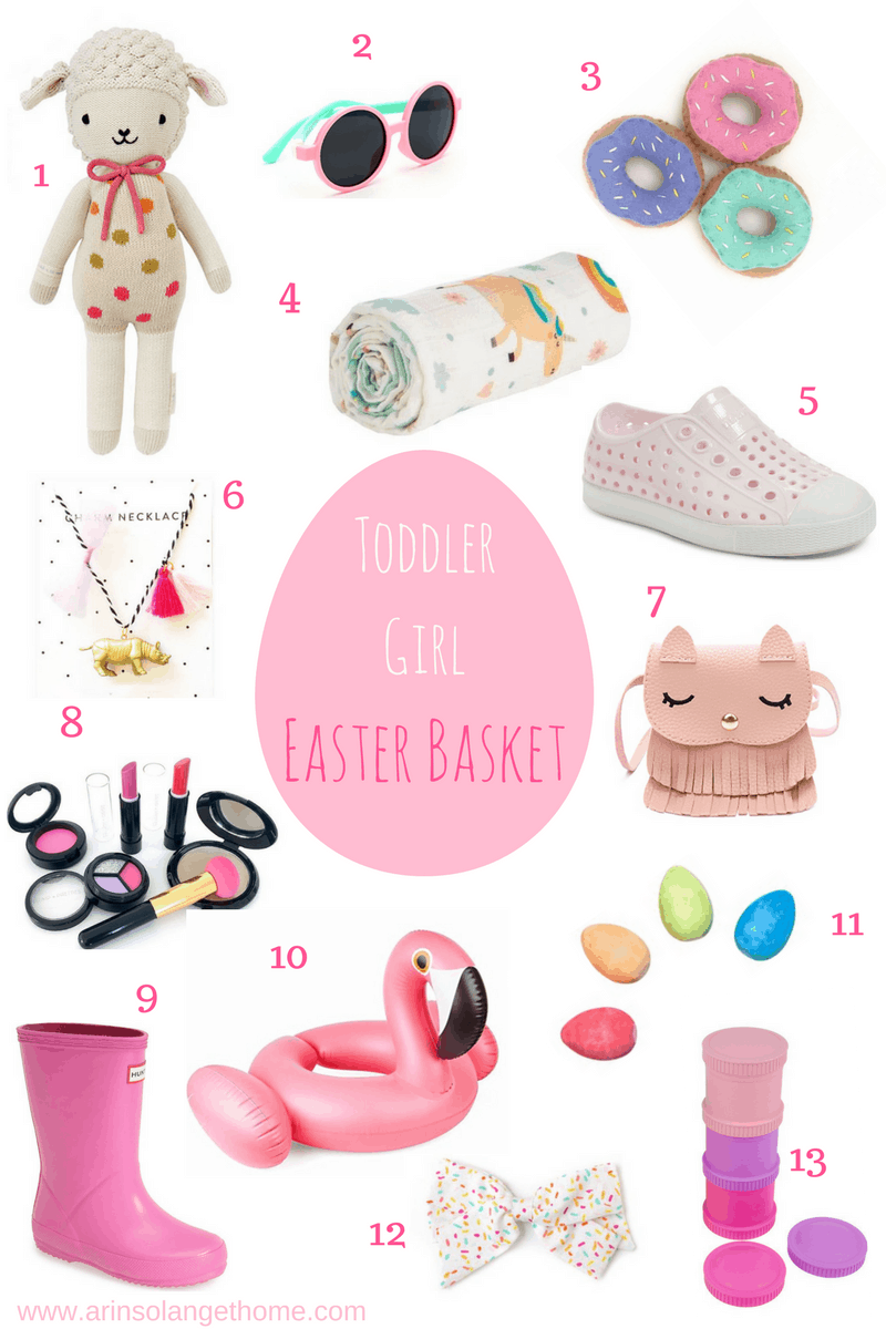 Toddler girl easter basket arinsolangeathome toddler girl easter basket filler collage negle Image collections