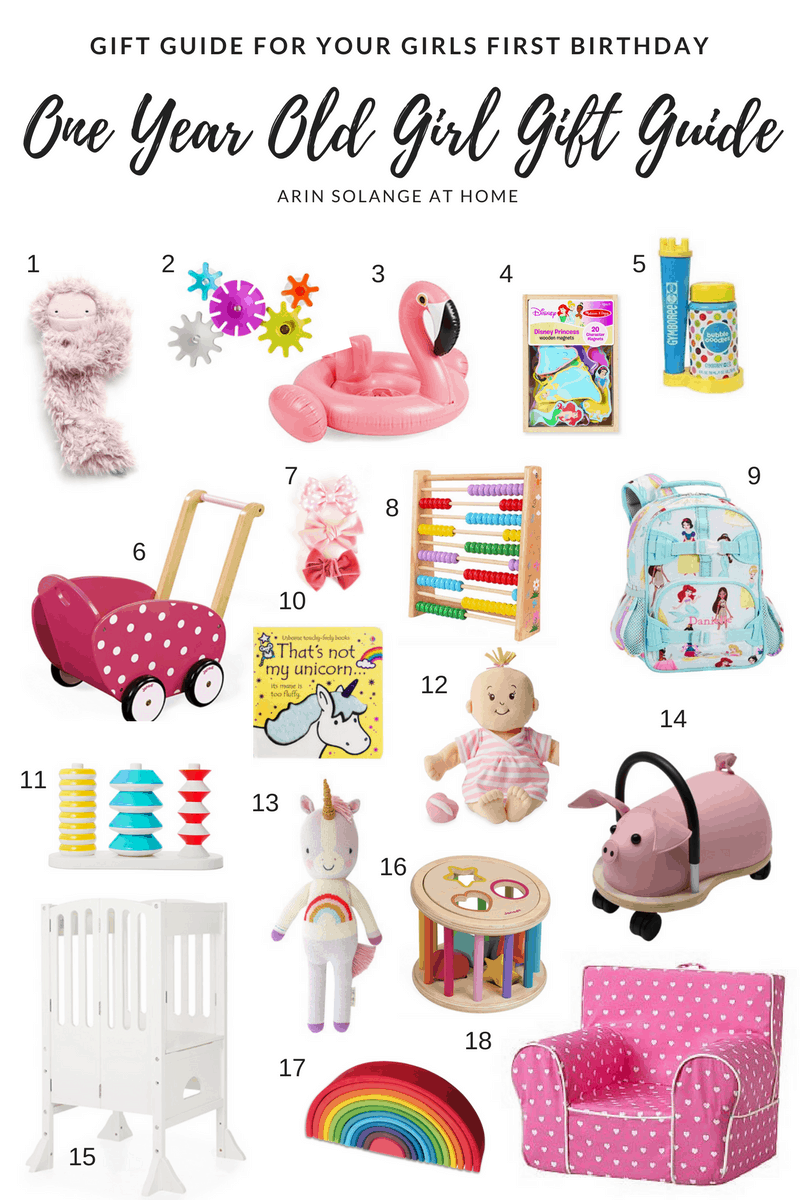 One Year Old Girl Gift Guide