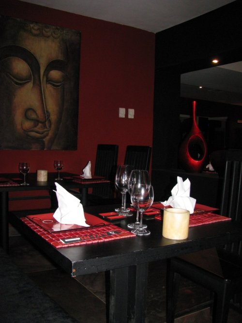 Tai Restaurant in the Oasis Palm Beach""