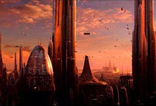 Coruscant Skyline