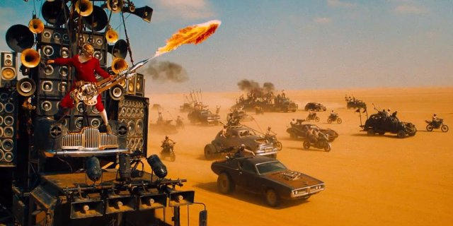 Mad Max - Flaming Guitar