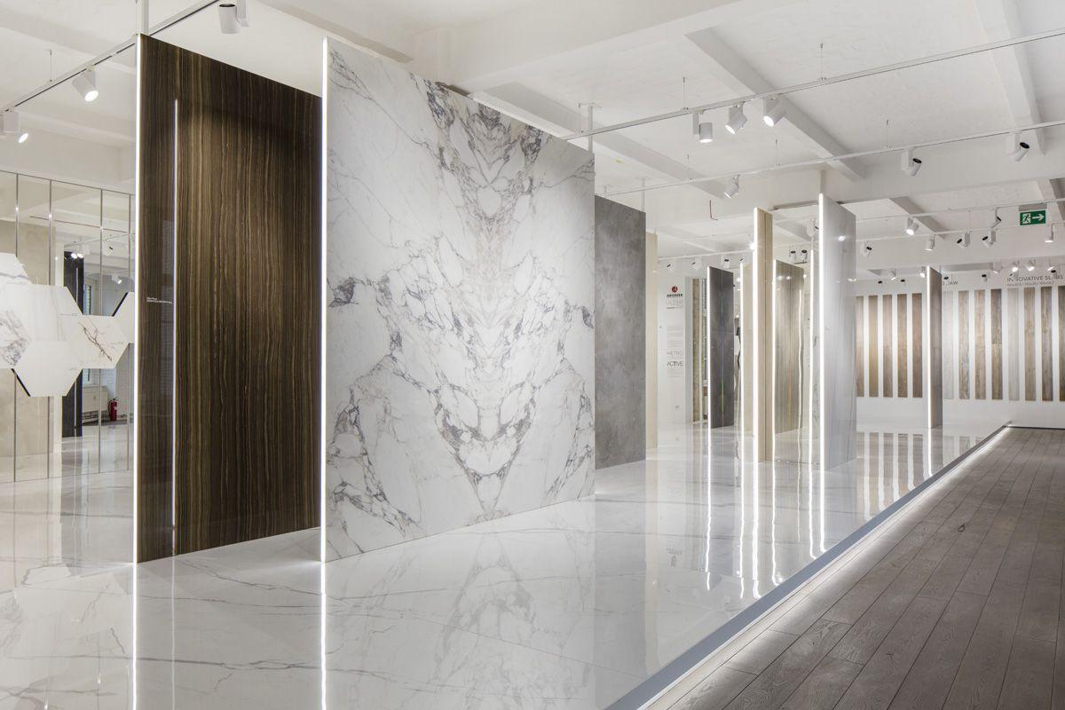 showroom berlin ariostea floor and