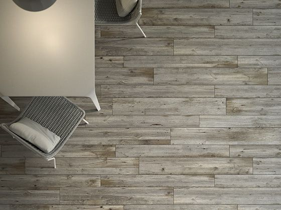 wood effect parquet floor and wall
