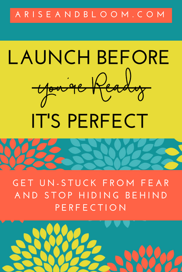 12-Launch Before (You're Ready) It's Perfect