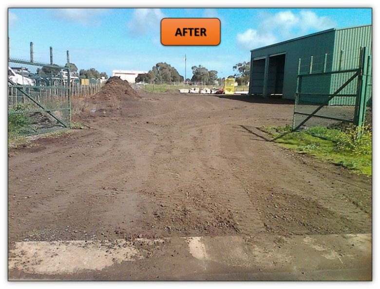 Shed Pad Levelling - Bobcat Services Adelaide