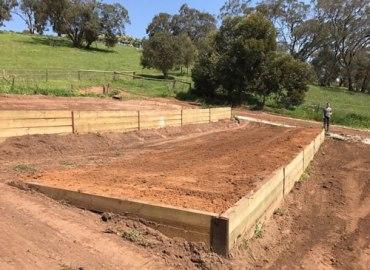 Tiered Vegetable Garden - Earth Moving Adelaide