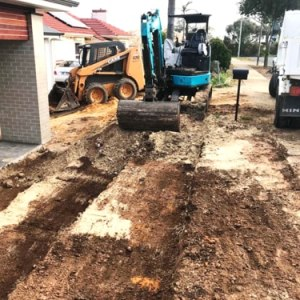Quick Front and Backyard Excavation Projects