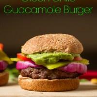 Green Chile Guacamole Burgers