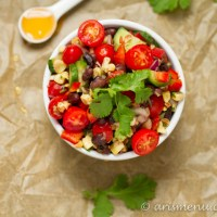 Roasted Corn Black Bean Salad