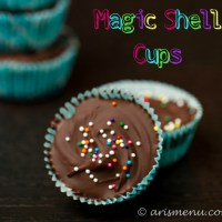 Magic Shell Cups