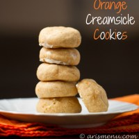 Drink & Dish: Orange Creamsicle Cookies