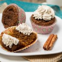 Pumpkin Spice Latte Cupcakes {vegan + gluten-free}