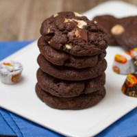 Ultimate Peanut Butter Cup Brownie Cookies