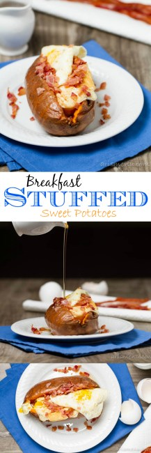 Breakfast Stuffed Sweet Potatoes: Healthy, delicious and naturally paleo
