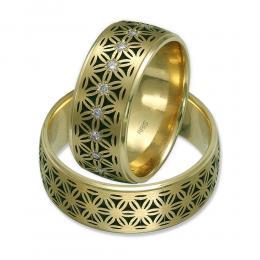 pırlanta altın Evlilik alyansı