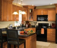 Maple Cabinets in Traditional Kitchen - Aristokraft on Maple Cabinets Kitchen  id=53913