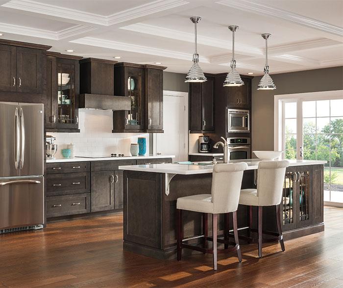 Dark Maple Bathroom Cabinets - Aristokraft Cabinetry on Dark Maple Cabinets  id=35716