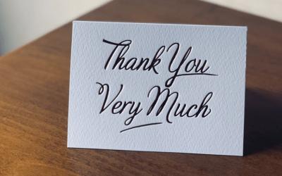 Making Gratitude a Habit