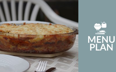 Time to Eat in the Hut: Menu Plan – Week of 9/19