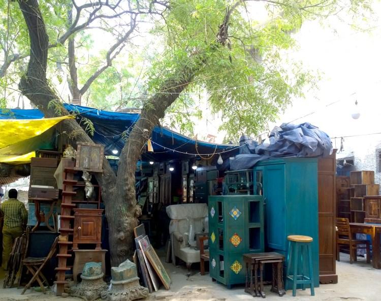 Delhi Furniture Shopping