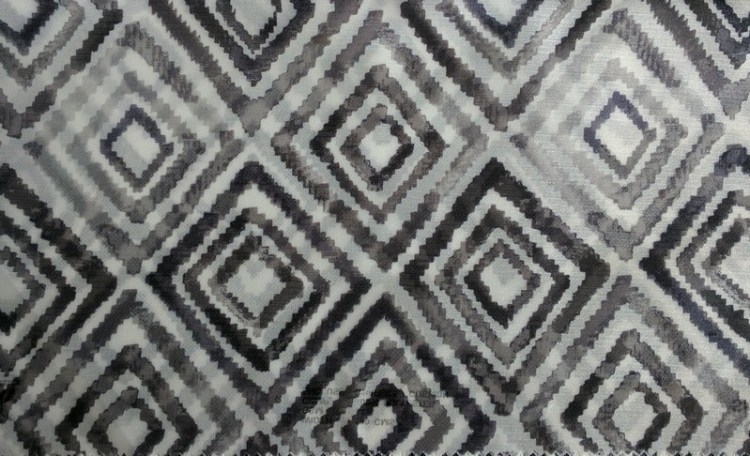 Fabric Selection - Black and white sheer curtains
