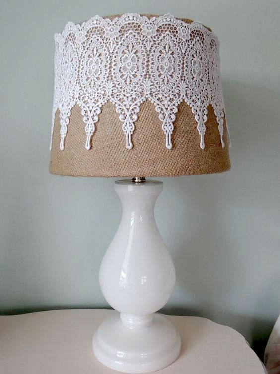Shabby Chic Lamp Shades Girly