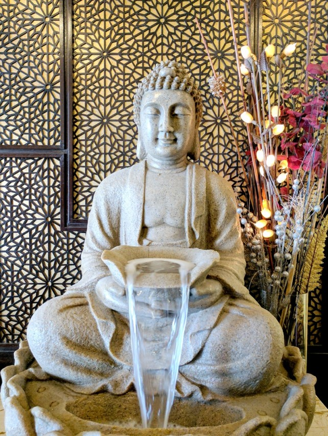 Foyer Reveal - Oriental Foyer Design with Buddha