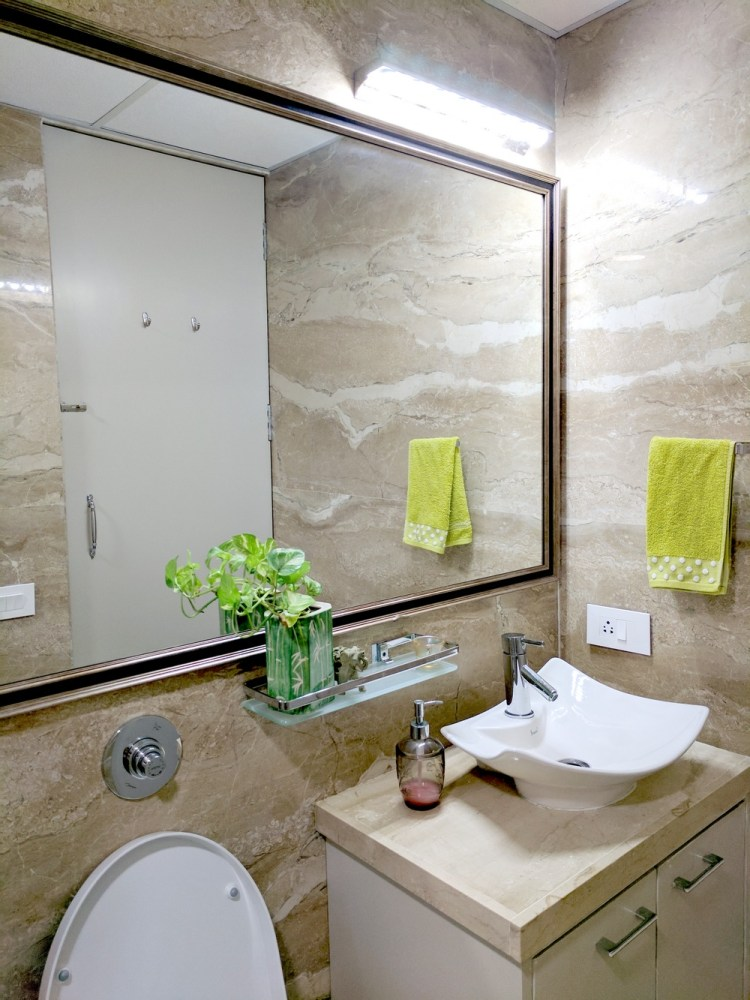7 ways to make big space in your small bathroom • one