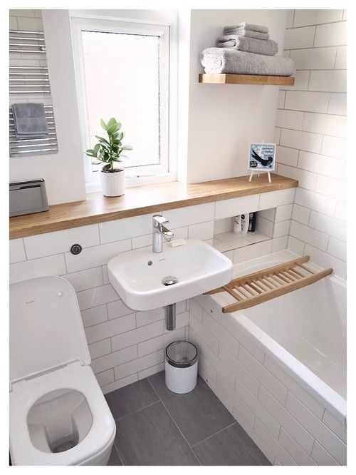 7 Ways to Make Big Space in Your Small Bathroom • One ... on Small Space Small Bathroom Ideas Uk id=21667
