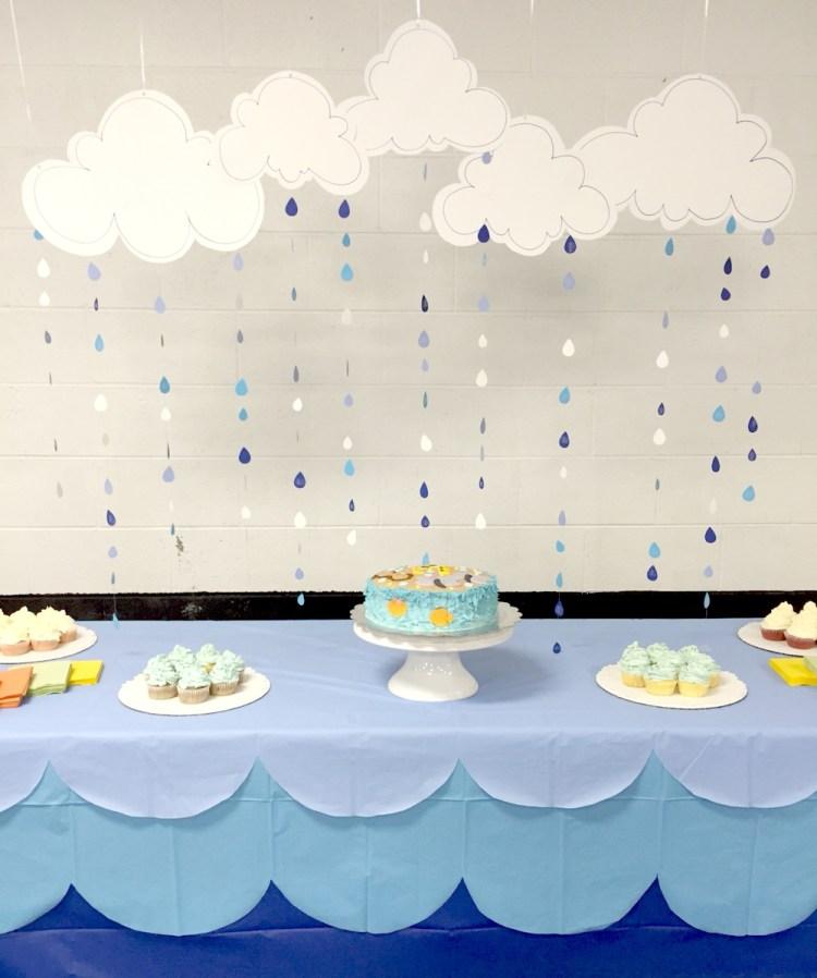 Rain decoration ideas