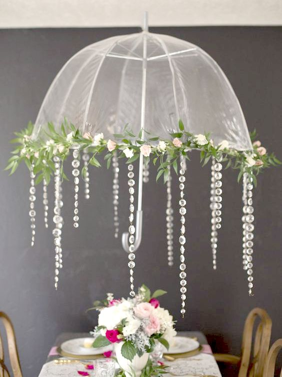 5 Delightful Umbrella Decoration Ideas To Welcome The