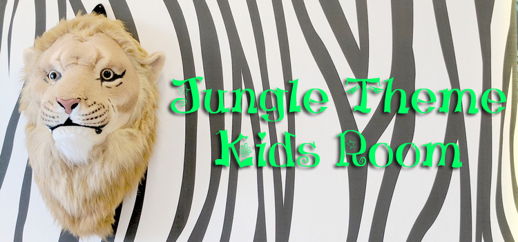 Jungle Theme Kids Room Reveal Project Comeback One Brick At A Time