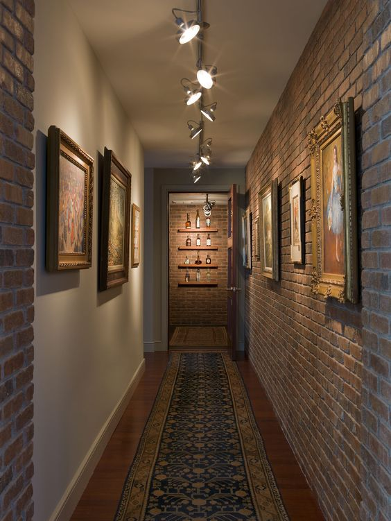 How To Glam Up Your Home With Accent Lighting One Brick At A Time