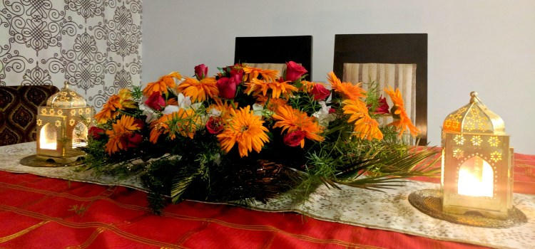 My Home: Decorating For A Diwali Party