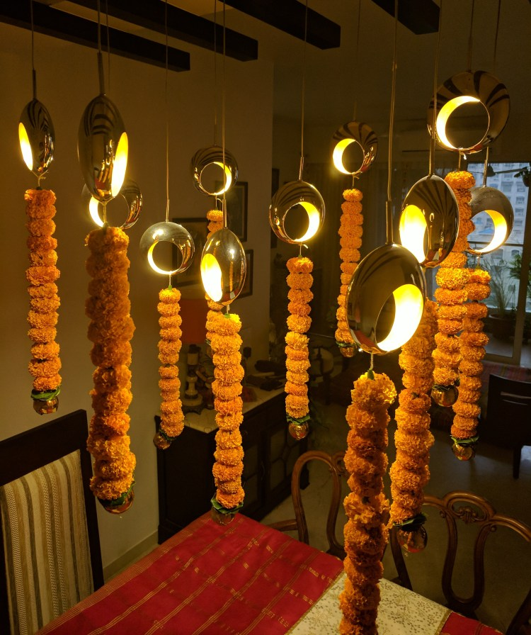 Decorating Home For Diwali: My Home: Decorating For A Diwali Party