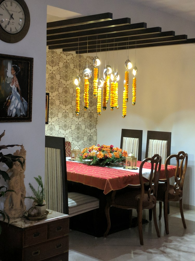 Decorating for a Diwali Party