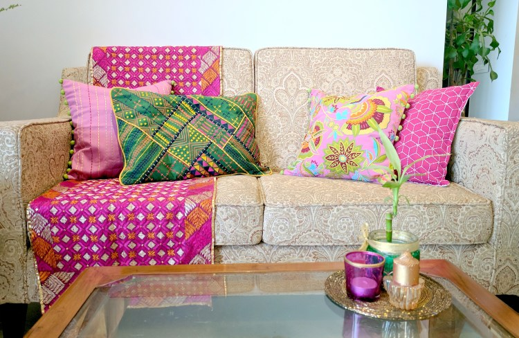Festival Special - Sofa Styling With Cushions By VLiving