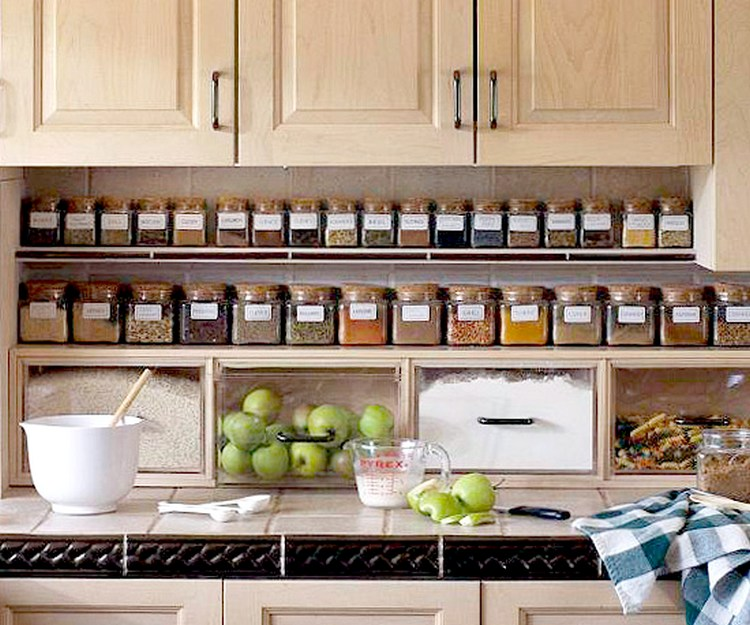 11 Ways To Make Big Space in Your Small Kitchen - Below Cabinets