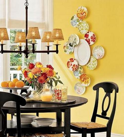 Yellow Decor Inspired By Asian Paints COTY 2018 • One