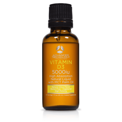 Liquid Vitamin D3 Main Bottle