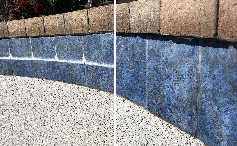 salt blast pool tile cleaning arizona