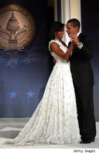 Michelle Obamas Inauguration Ballgown Style Files