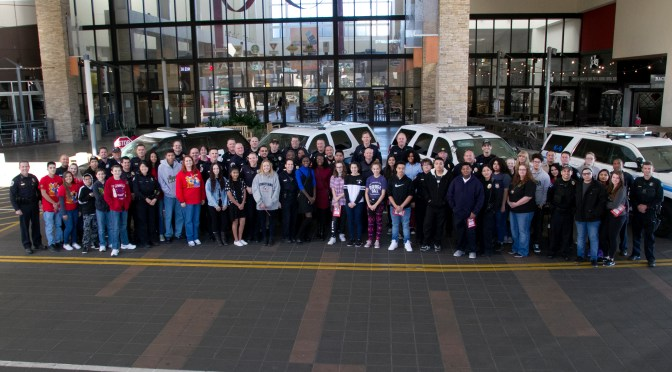Dec 3, 2016 Teen Shop with a Cop at Chandler Fashion Center