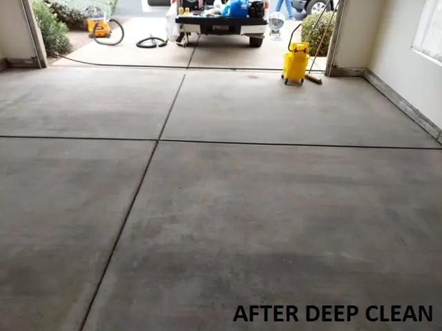 concrete cement cleaning tucson