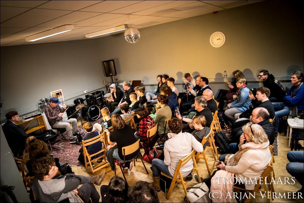 Drummersdag 2018 workshop Oscar Kraal