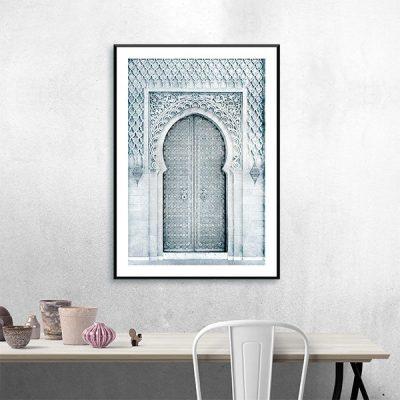 Poster arabe porte orientale