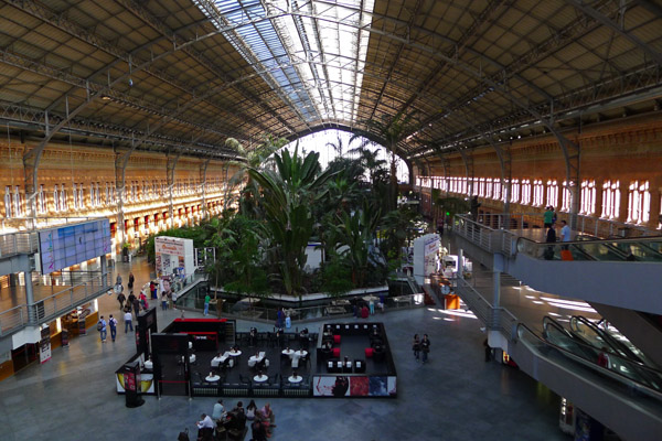 Madrid - Atocha Rail Station
