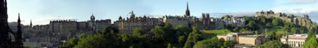 Edinburgh Panorama - click for full size