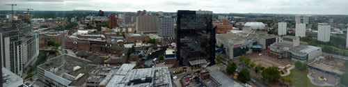 Birmingham Panorama West Close - click for full size